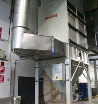 Herding FLEX t.b.v. droge filtratie (UV-lak) van natlak